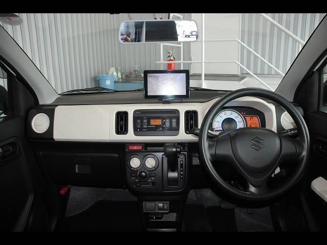 L 社外ポータブルナビ ワンセグ ETC レーダーブレーキサポート アイドリングストップ 横滑り防止 運転席シートヒーター フロアマット バイザー エネチャージ キーレス(7枚目)