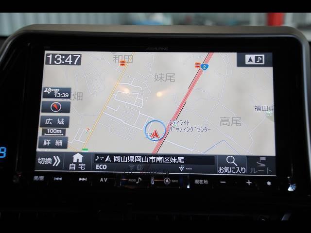 G アルパイン9インチSDナビ フルセグ DVD再生 Bluetooth バックモニター トヨタセーフティセンス プリクラッシュ オートハイビーム・ レーンキープ クルコン ビルトインETC・ドラレコ(9枚目)