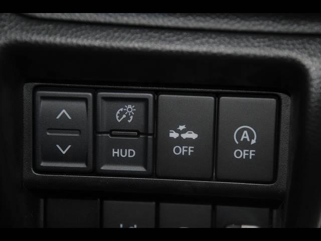ハイブリッドFX 純正CD デュアルセンサーブレーキサポート レーンキープ ヘッドアップディスプレイ 運転席シートヒーター アイドリングストップ オートエアコン プッシュスタート スマートキー(9枚目)
