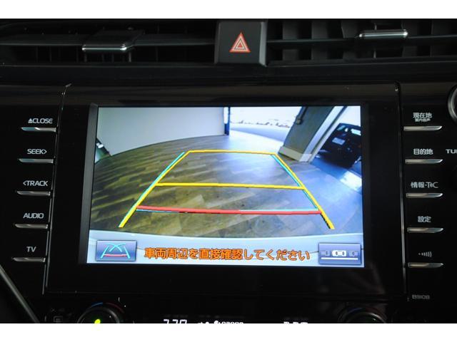 Gレザーパッケージ 純正SDナビ フルセグ ブルーレイ Bluetooth ステリモ バックモニター 黒レザーシート パワーシート シートヒーター モデリスタエアロ トヨタセーフティセンス レーンキープ(10枚目)