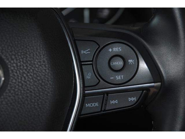 Gレザーパッケージ 純正SDナビ フルセグ ブルーレイ Bluetooth ステリモ バックモニター 黒レザーシート パワーシート シートヒーター モデリスタエアロ トヨタセーフティセンス レーンキープ(12枚目)