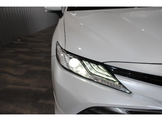 Gレザーパッケージ 純正SDナビ フルセグ ブルーレイ Bluetooth ステリモ バックモニター 黒レザーシート パワーシート シートヒーター モデリスタエアロ トヨタセーフティセンス レーンキープ(14枚目)