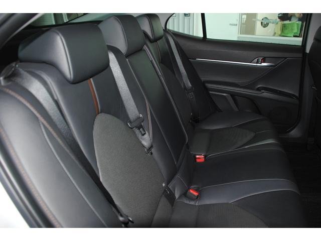 Gレザーパッケージ 純正SDナビ フルセグ ブルーレイ Bluetooth ステリモ バックモニター 黒レザーシート パワーシート シートヒーター モデリスタエアロ トヨタセーフティセンス レーンキープ(22枚目)