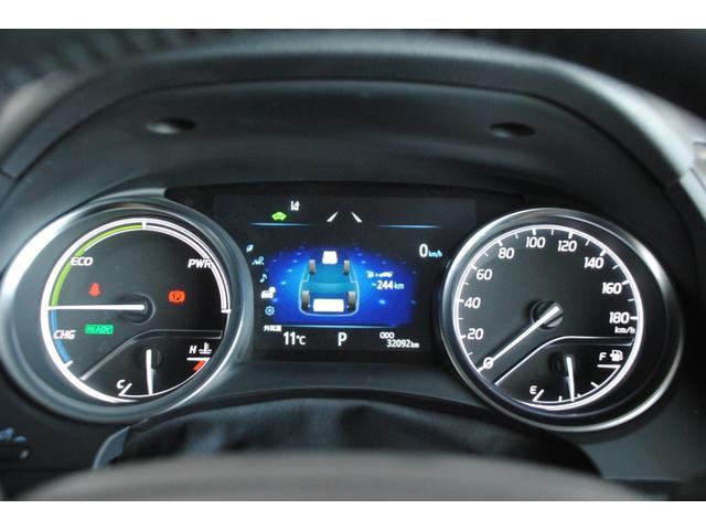 Gレザーパッケージ 純正SDナビ フルセグ ブルーレイ Bluetooth ステリモ バックモニター 黒レザーシート パワーシート シートヒーター モデリスタエアロ トヨタセーフティセンス レーンキープ(24枚目)