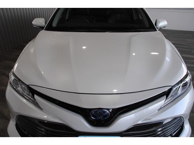 Gレザーパッケージ 純正SDナビ フルセグ ブルーレイ Bluetooth ステリモ バックモニター 黒レザーシート パワーシート シートヒーター モデリスタエアロ トヨタセーフティセンス レーンキープ(30枚目)