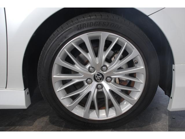 Gレザーパッケージ 純正SDナビ フルセグ ブルーレイ Bluetooth ステリモ バックモニター 黒レザーシート パワーシート シートヒーター モデリスタエアロ トヨタセーフティセンス レーンキープ(32枚目)