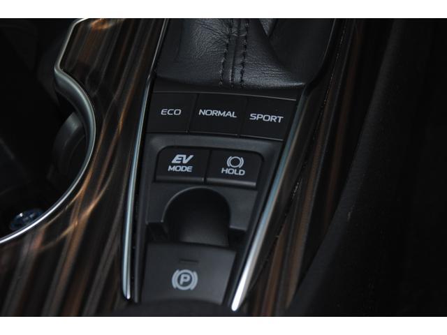 Gレザーパッケージ 純正SDナビ フルセグ ブルーレイ Bluetooth ステリモ バックモニター 黒レザーシート パワーシート シートヒーター モデリスタエアロ トヨタセーフティセンス レーンキープ(48枚目)