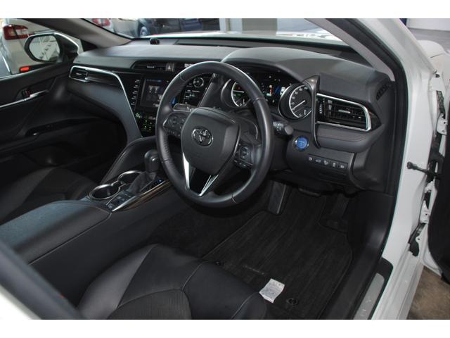 Gレザーパッケージ 純正SDナビ フルセグ ブルーレイ Bluetooth ステリモ バックモニター 黒レザーシート パワーシート シートヒーター モデリスタエアロ トヨタセーフティセンス レーンキープ(55枚目)