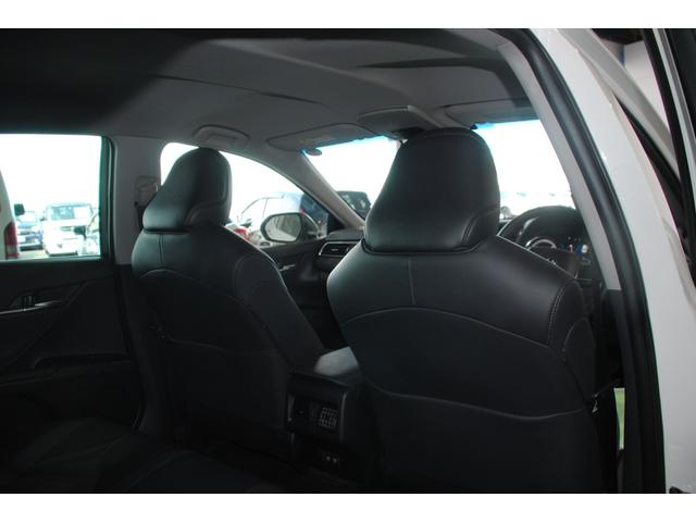 Gレザーパッケージ 純正SDナビ フルセグ ブルーレイ Bluetooth ステリモ バックモニター 黒レザーシート パワーシート シートヒーター モデリスタエアロ トヨタセーフティセンス レーンキープ(56枚目)