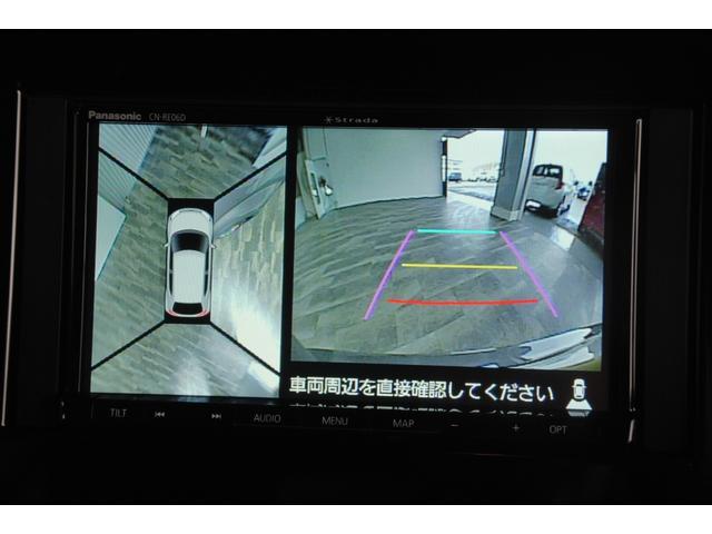 Fリミテッド 新品社外SDナビ フルセグ DVD Bluetooth ステリモ 全方位モニター デュアルカメラブレーキサポート レーンキープ クルコン パドルシフト 本革巻ステアリング LEDオートライト(9枚目)