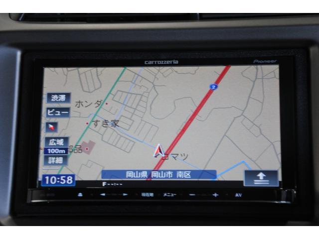G・10thアニバーサリーII 社外メモリーナビ ワンセグ CD バックモニター ビルトインETC ウインカーミラー プライバシーガラス Wエアバック ABS フロアマット バイザー スマートキー(8枚目)