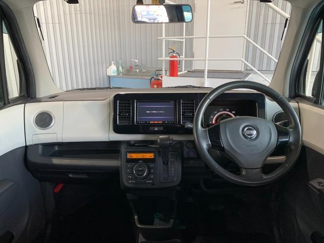 X 純正SDナビ フルセグ CD プッシュスタート インテリキー オートエアコン レザー調シートカバー ETC アイドリングストップ ウインカーミラー 純正14インチアルミ フロアマット(7枚目)