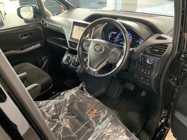 ハイブリッドG ワンオーナー 純正9インチSDナビ フルセグ 走行中OK DVD Bluetooth SD録音 バックモニター リアフリップダウンモニター トヨタセーフティセンス レーンキープ 両側電動スライドドア(55枚目)