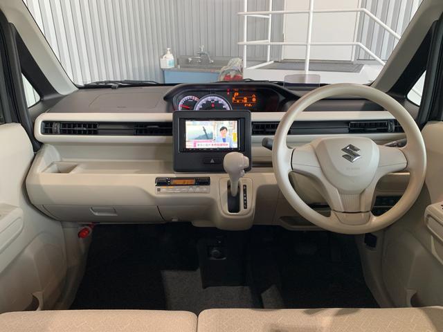ハイブリッドFX 新品社外SDナビ フルセグ DVD Bluetooth バックモニター デュアルセンサーブレーキサポート レーンキープ 運転席シートヒーター HUD オートエアコン プッシュスタート スマートキー(7枚目)
