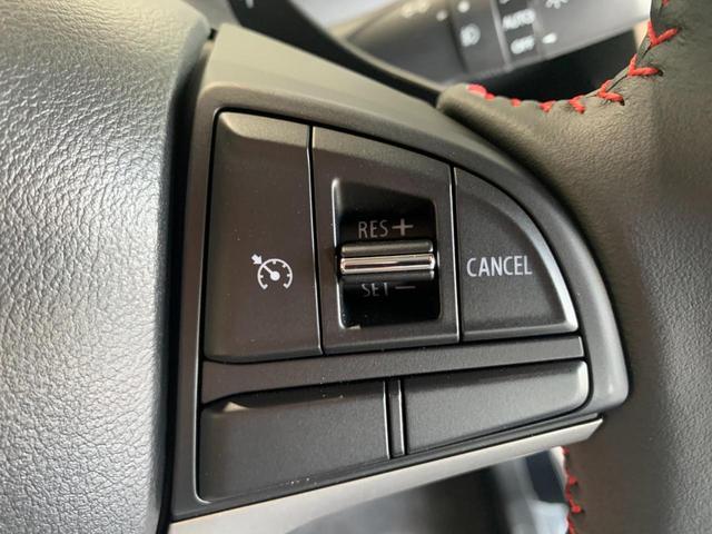 ハイブリッドT 新品社外SDナビ フルセグ DVD Bluetooth ステリモ バックモニター スズキセーフティサポート レーンキープ HUD パドルシフト クルコン プッシュスタート スマートキー 本革巻きステア(12枚目)