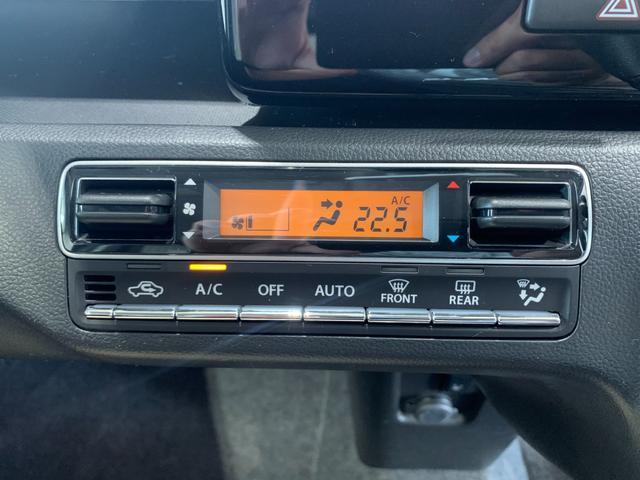 ハイブリッドT 新品社外SDナビ フルセグ DVD Bluetooth ステリモ バックモニター スズキセーフティサポート レーンキープ HUD パドルシフト クルコン プッシュスタート スマートキー 本革巻きステア(48枚目)