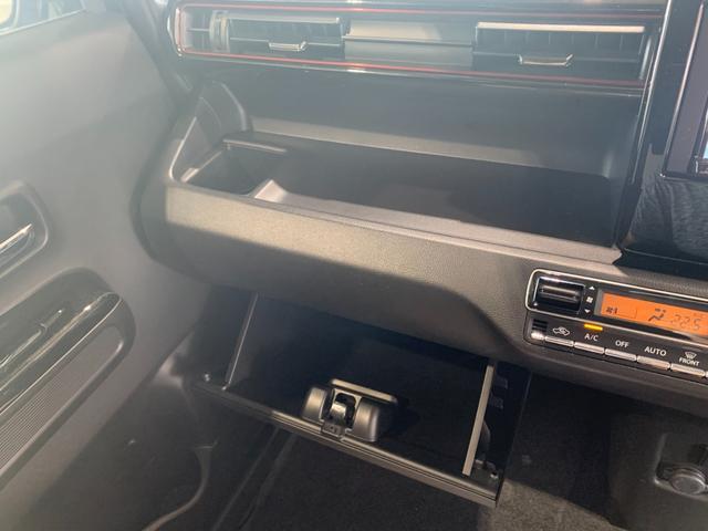 ハイブリッドT 新品社外SDナビ フルセグ DVD Bluetooth ステリモ バックモニター スズキセーフティサポート レーンキープ HUD パドルシフト クルコン プッシュスタート スマートキー 本革巻きステア(49枚目)