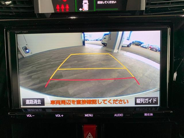 カスタムG S ワンオーナー 純正9インチSDナビ フルセグ 走行中OK DVD Bluetooth SD録音 両側電動 LEDオートライト ビルトインETC 前席シートヒーター クルコン 本革巻ステア スマアシ2(10枚目)