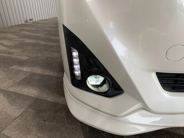 カスタムG S ワンオーナー 純正9インチSDナビ フルセグ 走行中OK DVD Bluetooth SD録音 両側電動 LEDオートライト ビルトインETC 前席シートヒーター クルコン 本革巻ステア スマアシ2(39枚目)