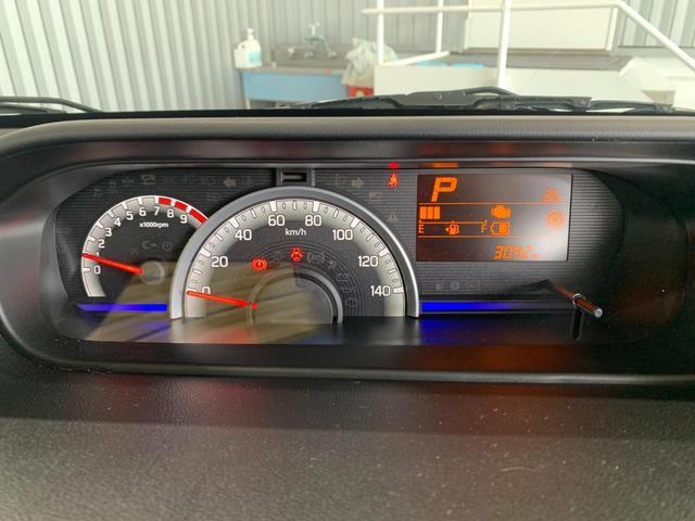 ハイブリッドFX 純正CD デュアルセンサーブレーキサポート レーンキープ プッシュスタート スマートキー アイドリングストップ 後退時ブレーキサポート 運転席シートヒーター オートエアコン オートライト(30枚目)