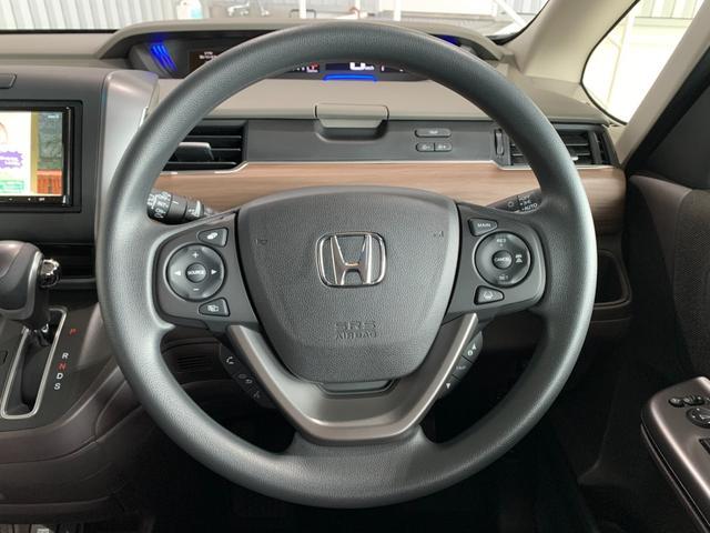 G・ホンダセンシング 登録済未使用車 新品社外SDナビ フルセグ DVD Bluetooth バックモニター ホンダセンシング レーンキープ スマートキー 両側パワースライド クルコン ビルトインETC オートライト(37枚目)