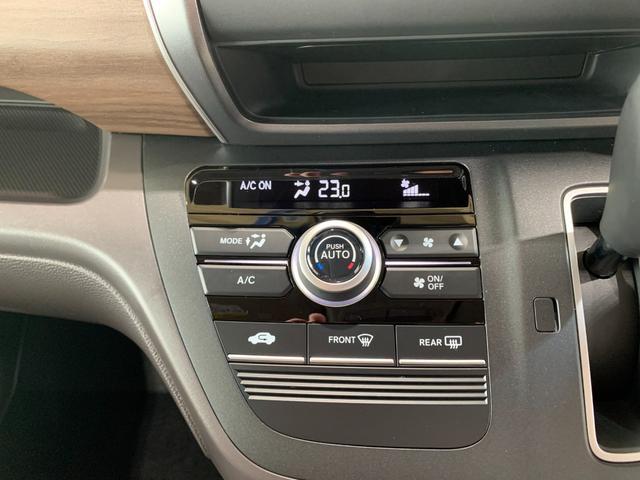 G・ホンダセンシング 登録済未使用車 新品社外SDナビ フルセグ DVD Bluetooth バックモニター ホンダセンシング レーンキープ スマートキー 両側パワースライド クルコン ビルトインETC オートライト(42枚目)