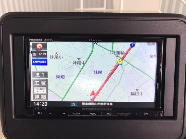ハイブリッドG 新品社外SDナビ フルセグ DVD Bluetooth バックモニター プッシュスタート スマートキー スズキセーフティサポート レーンキープ リアセンサー オートエアコン オートライト 電格ミラー(8枚目)