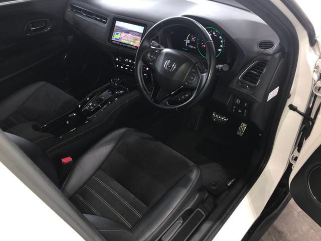 ハイブリッドRS・ホンダセンシング カロッツェリア8インチナビ フルセグ DVD Bluetooth バックモニター ホンダセンシング レーンキープ クルコン プッシュスタート 黒合皮レザーシート シートヒーター ETC パドルシフト(56枚目)