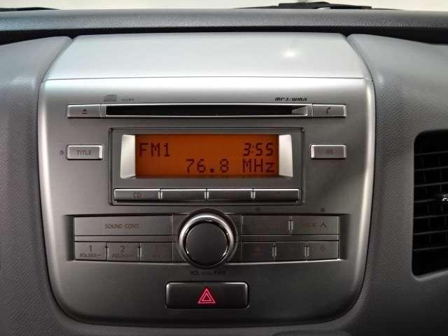 【CDプレーヤー】 オーディオはCDデッキ付 渋滞時はステキな音楽でリラッスリラックス