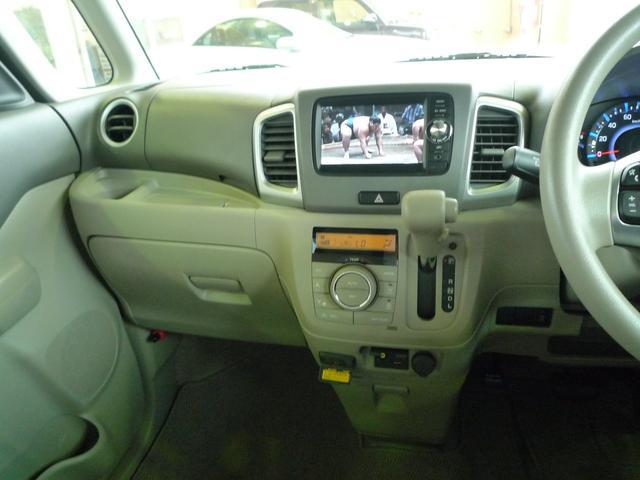 スズキ スペーシア Xツートン スマートフォン連携ナビTVBモニター装着車