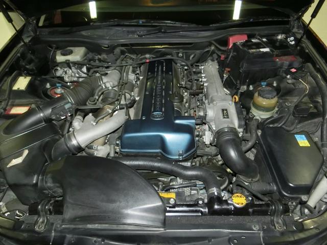 トヨタ アリスト V300ベルED ターボ 外フルエアロ外テール19AW車高調
