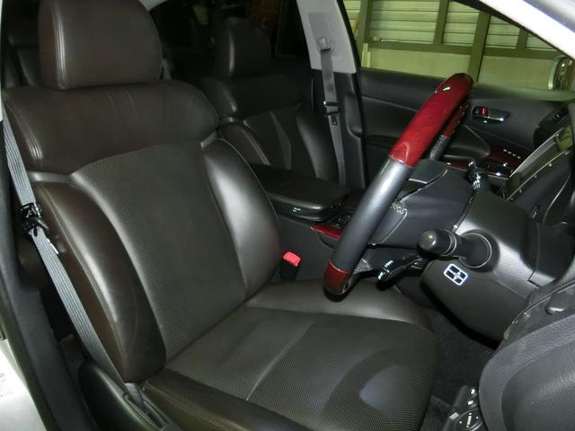 レクサス GS GS350 エアロBBS19AW 車高調外マフラー本革HDD