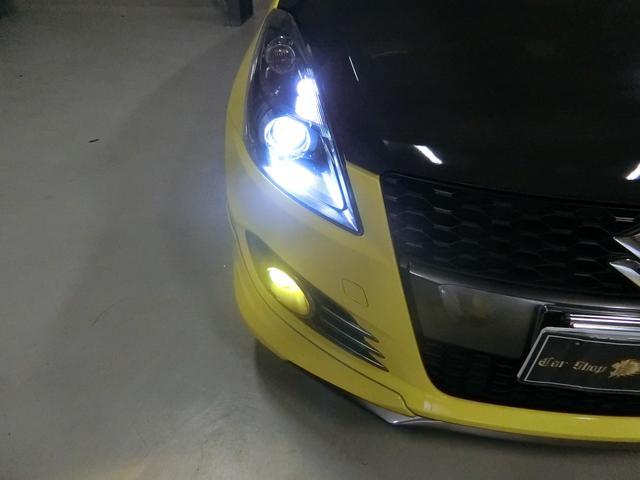 スズキ スイフトスポーツ 1オーナー6MT カーボンB外17AWマフラー外LEDテール