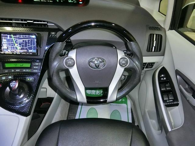 トヨタ プリウス SツーリングSC モデリスタ レイズ19AW車高調 外テール