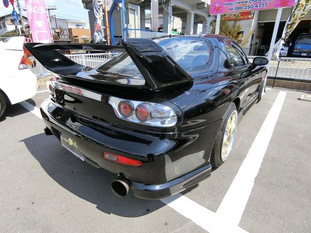 マツダ RX-7 タイプRバサースト 5MTターボ 外エアロAW車高調マフラー