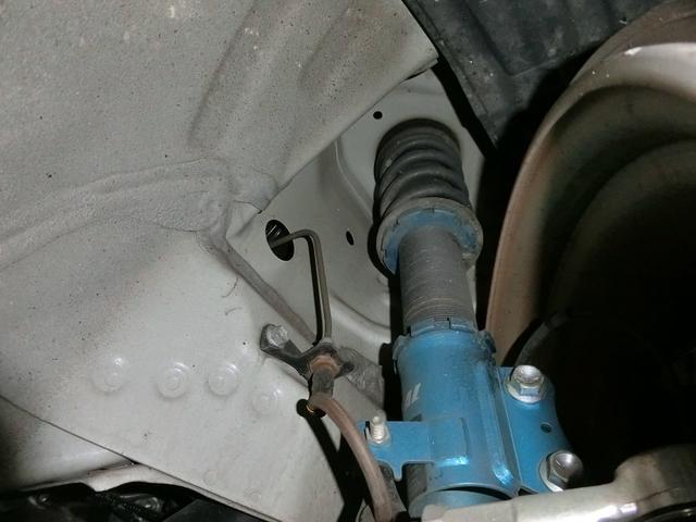 スズキ ワゴンRスティングレー T Sエネ RBS 外エアロWORK17AW車高調アクスル