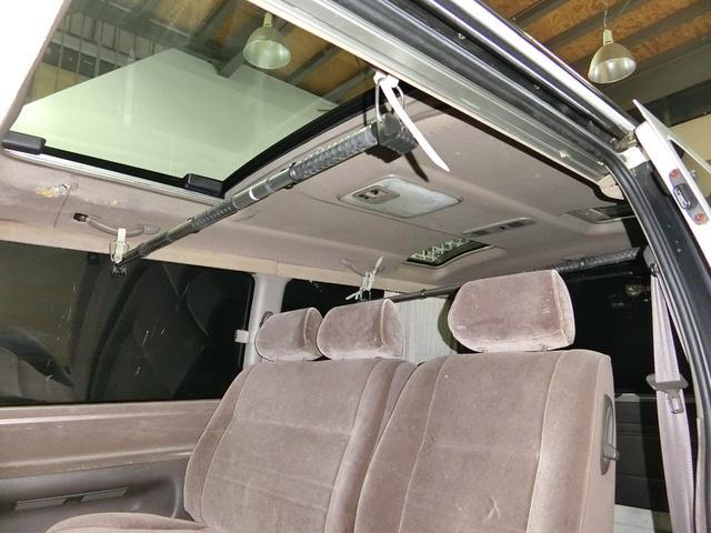 トヨタ ハイエースワゴン リビングサルーンEX Dターボ 3MR 外エアロAW LED