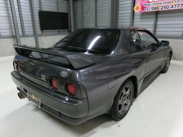 日産 スカイライン GT-R 5MTターボ4WD 外HID外マフラークラッチ改