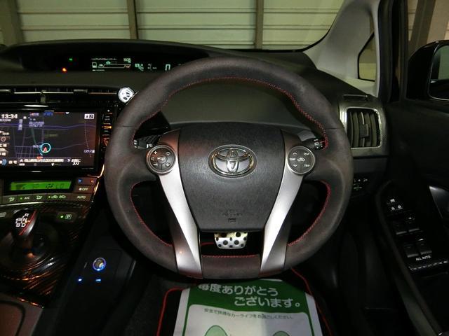 トヨタ プリウス SツーリングSC・G's エアロ18AWローダウン外マフラー