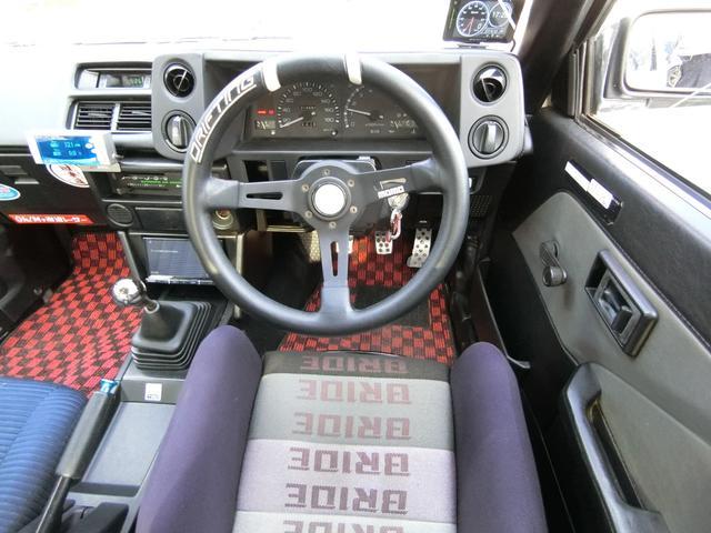 GT-V 5MT エアロ外14AW車高調マフラー バケット席(14枚目)