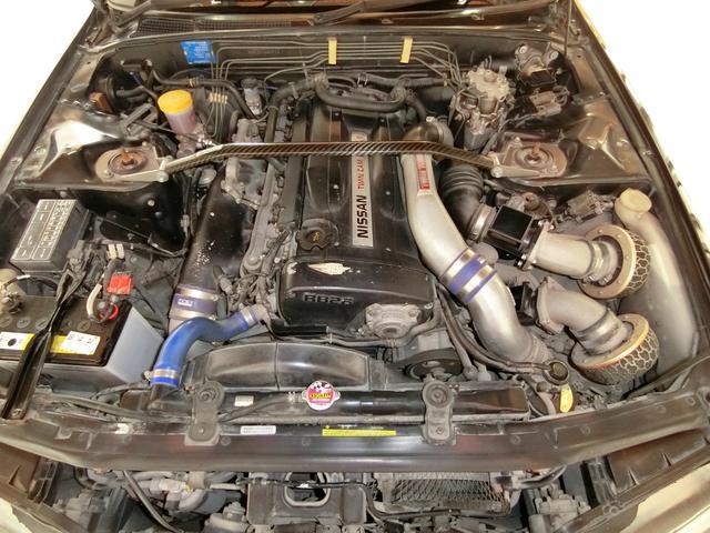 GT-R 5MTターボ4WD エアロ外17AW車高調マフラー(20枚目)
