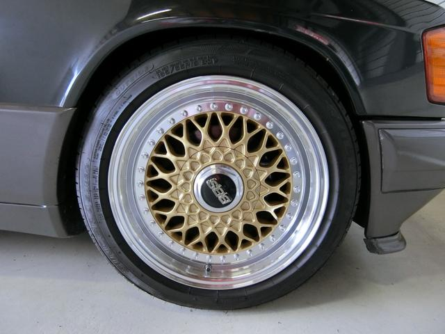 190E2.6スポーツライン Fリップスポ 外16AW車高調(19枚目)