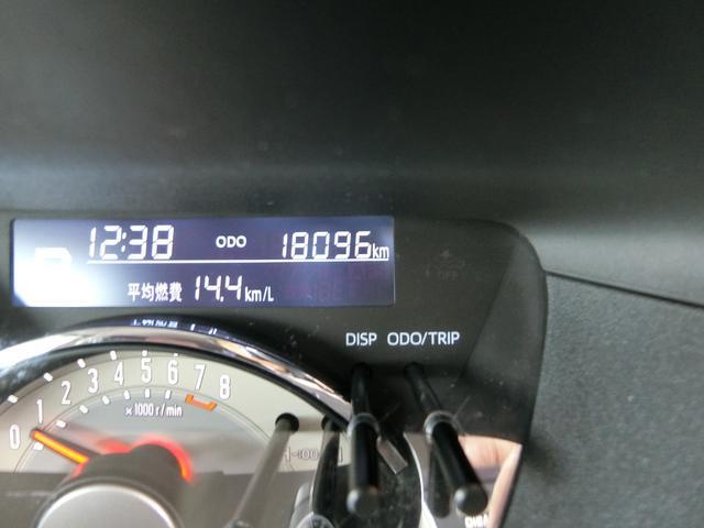 実走行1.8万kmです!嬉しいですね!まだまだ走ります!