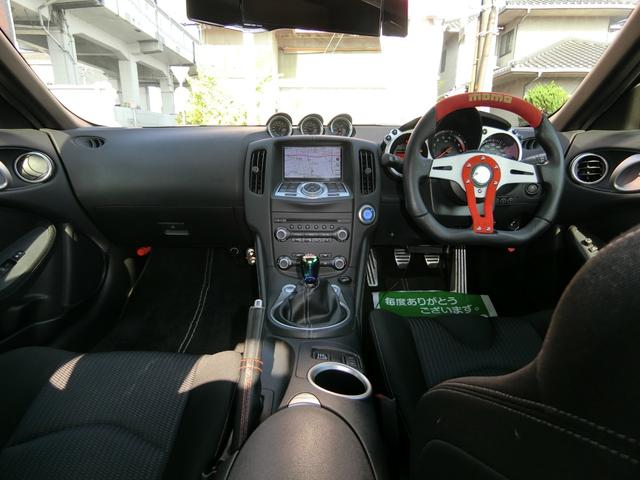 VerS 6MT ニスモバンパーエアロ19AW車高調マフラー(11枚目)