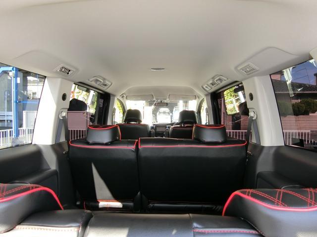 GスマートスタイルED 外フルエアロAW車高調 革調席9ナビ(8枚目)