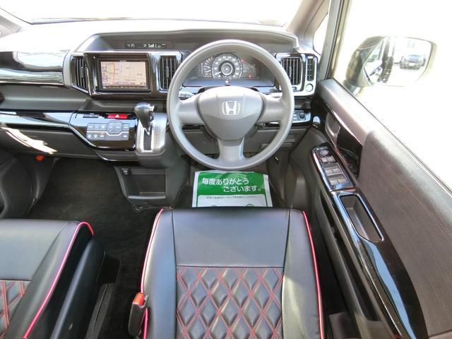 GスマートスタイルED 外フルエアロAW車高調 革調席9ナビ(11枚目)