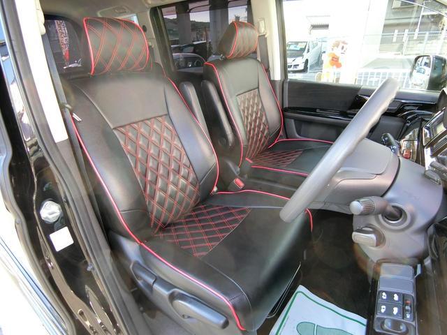 GスマートスタイルED 外フルエアロAW車高調 革調席9ナビ(13枚目)