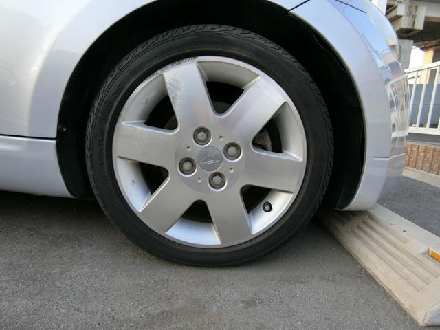 純正15インチAWです!タイヤは4分山くらいです。