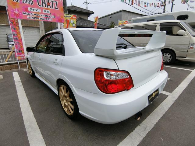 WRX STi 6MTターボ4WD AW車高調HID Rスポ(6枚目)