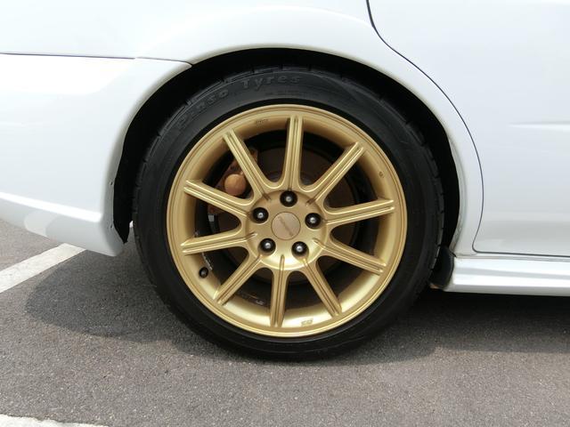 WRX STi 6MTターボ4WD AW車高調HID Rスポ(19枚目)